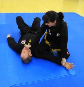 martial arts; technique
