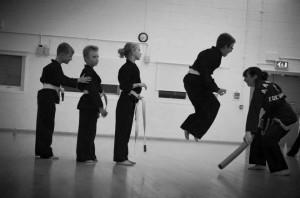 children; self defence