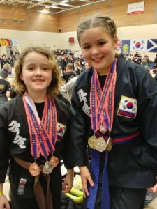 Martial arts medal winners!